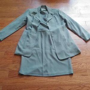2 piece Sage Green Suit